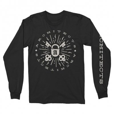 architects - Lock & Key Long Sleeve (Black)