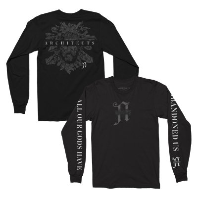 architects - Gods Long Sleeve (Black)