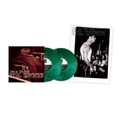 social-distortion - Live At The Roxy LP (Green Smoke)