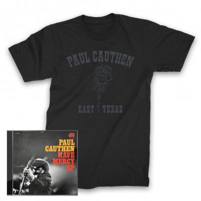 paul-cauthen - Have Mercy EP CD + East Texas Rose T-Shirt (Black)
