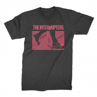 the-interrupters - Boots T-Shirt (Vintage Black)