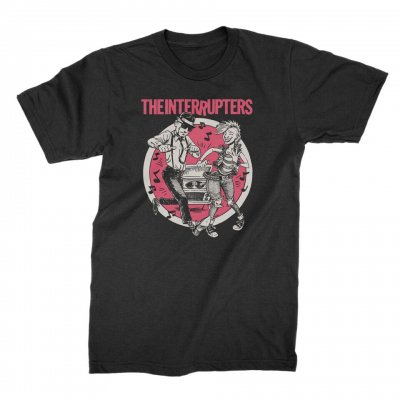 the-interrupters - Color Dancing Couple T-Shirt (Black)