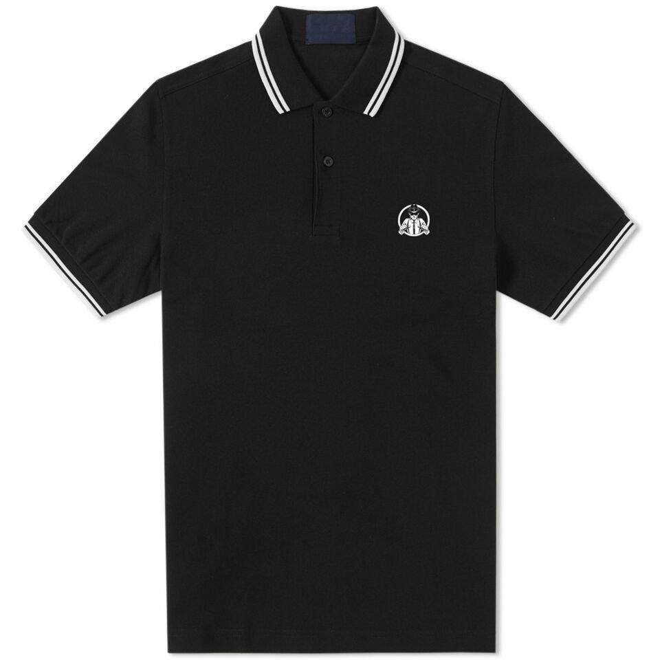 IMAGE | Suspenders Polo Shirt (Black)