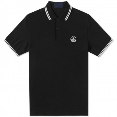 Suspenders Polo Shirt (Black)