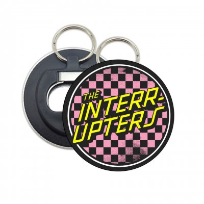 Checkered Bottle Opener