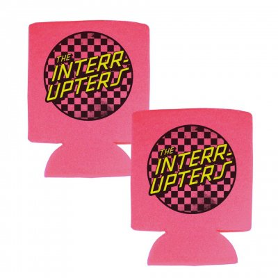 the-interrupters - Checkered Coozie (Pink)