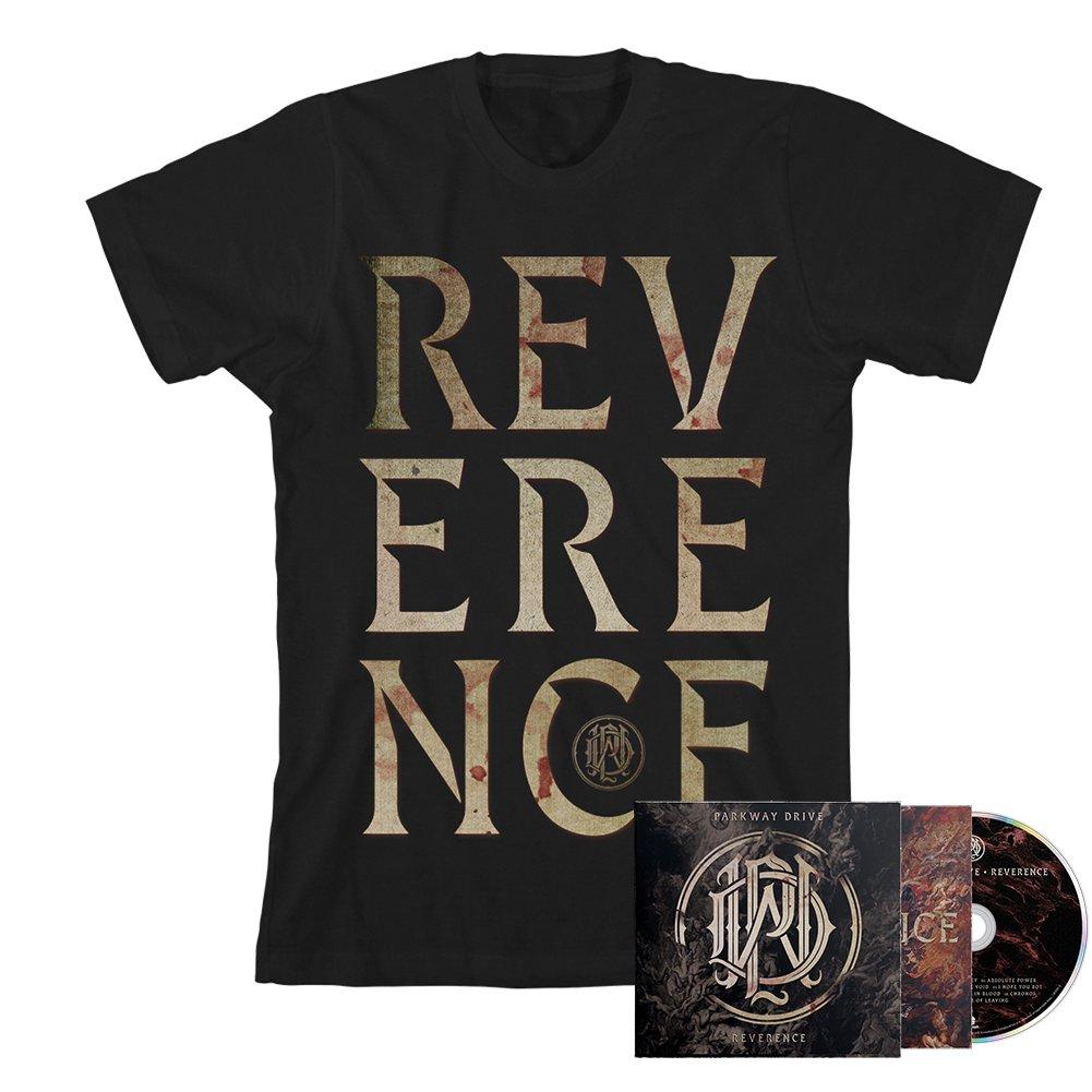 IMAGE | Reverence CD + Big Letter Tee (Black) Bundle