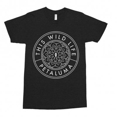 This Wild Life - Flower Seal Tee (Black)
