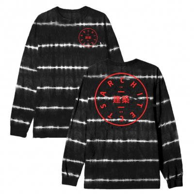 architects - Circle Logo Long Sleeve (Tie Dye)