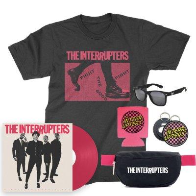 Punk Rock Festival Pack (Black T-Shirt/Pink LP)