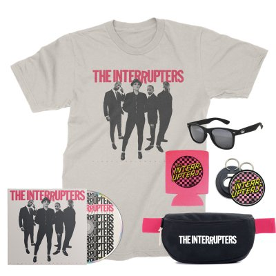 the-interrupters - Punk Rock Festival Pack (Natural T-Shirt/CD)