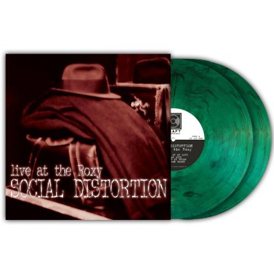social-distortion - Live At The Roxy LP (Green Smoke)
