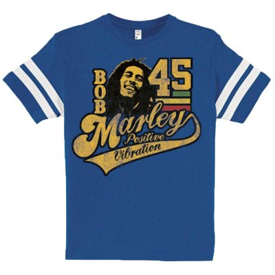 Bob Marley - '45 Boys Toddler T-Shirt (Blue)