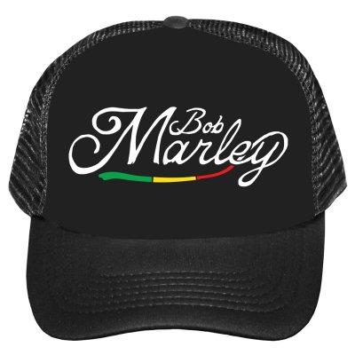Bob Marley - Script Trucker Hat