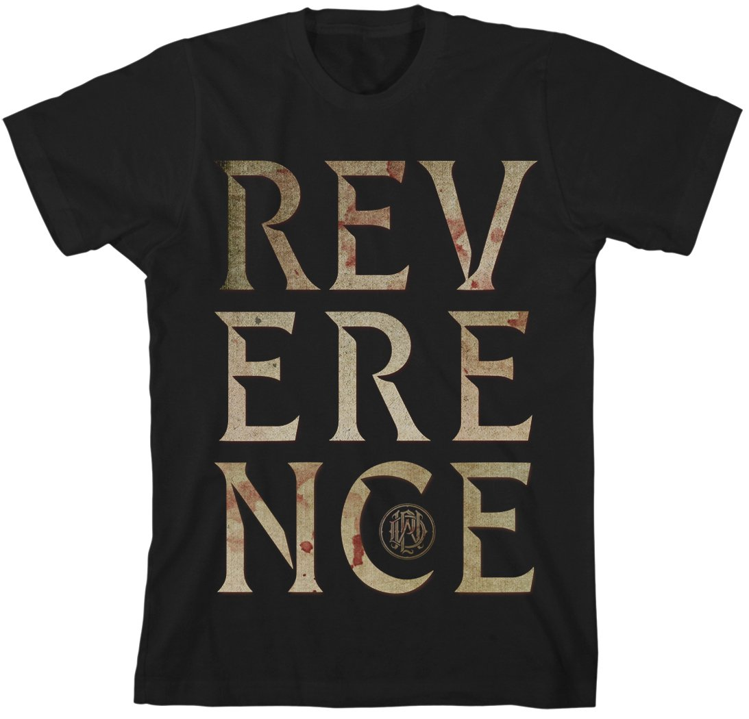 IMAGE | Reverence Big Letter Tee (Black)