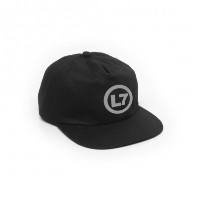 L7 Spray Logo Unstructured Snapback (Black)
