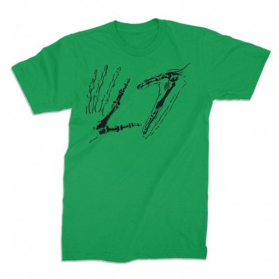 Hands Tee (Green)