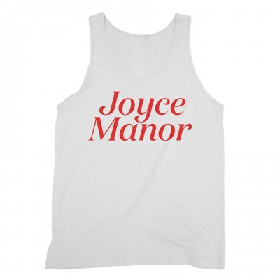 joyce-manor - Logo Tank (White)
