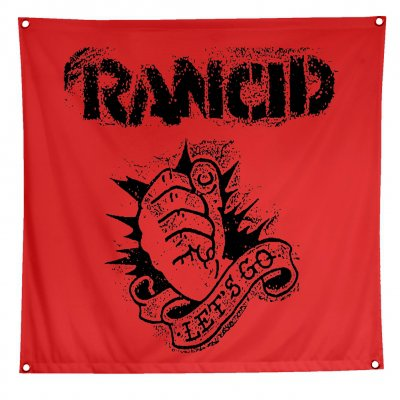 "rancid - Let's Go Flag (48"" x 48"")"