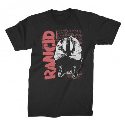 rancid - Don't Care Nothin' T-Shirt (Black)