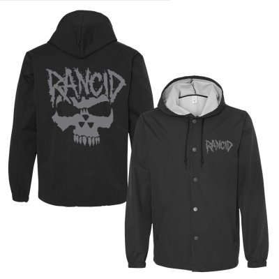 rancid - Nuclear Skull Windbreaker (Black)