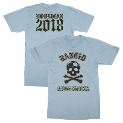 rancid - Argentina World Cup Tee (Light Blue)