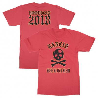 rancid - Belgium World Cup Tee (Red)