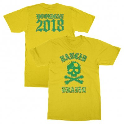 rancid - Brazil World Cup Tee (Yellow)
