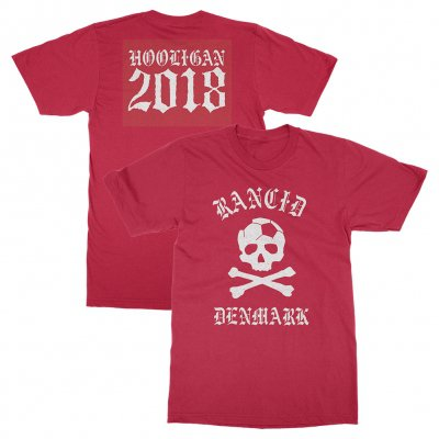 rancid - Denmark World Cup Tee (Red)