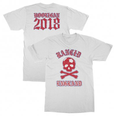 rancid - England World Cup Tee (White)