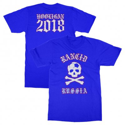 rancid - Russia World Cup Tee (Neon Blue)