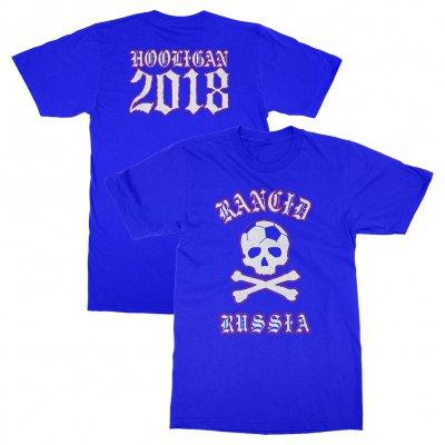 rancid - Russia World Cup Tee (Neon Blue)