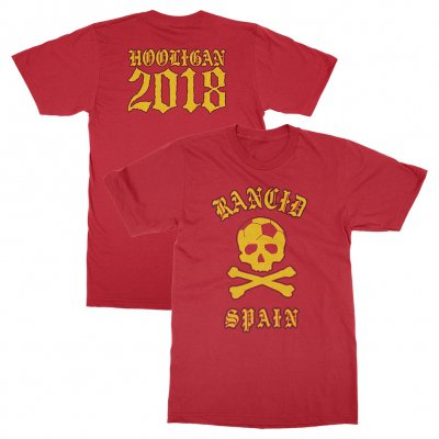 rancid - Spain World Cup Tee (Red)