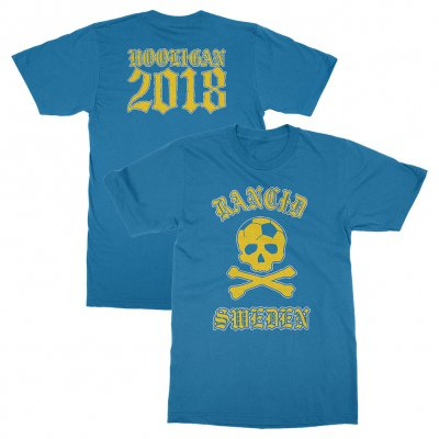 rancid - Sweden World Cup Tee (Sapphire)