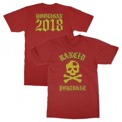 rancid - Portugal World Cup Tee (Red)