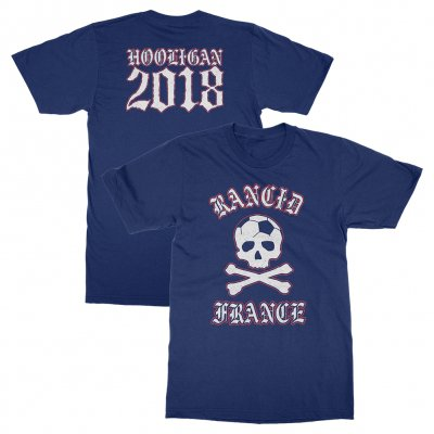 rancid - France World Cup Tee (Navy)