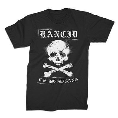 rancid - US Hooligans T-Shirt (Black)