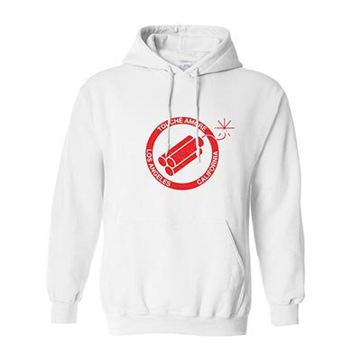 touche-amore - Bomb Pullover Hoodie (White)