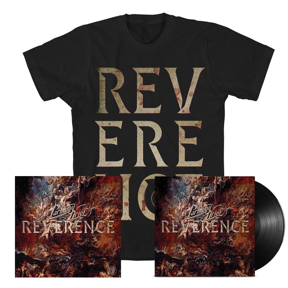 IMAGE | Reverence LP (Black) + Big Letter Tee (Black) Bundle