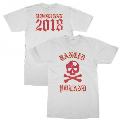 rancid - Poland World Cup Tee (White)