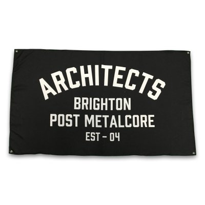 architects - Brighton Post Metalcore Flag (3'x5')