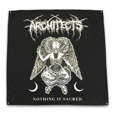 "architects - Nothing Is Sacred Flag (48"" x 48"")"