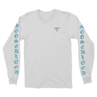 moose-blood - Wavy Long Sleeve (White)