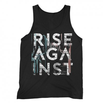 rise-against - Stacked Wolves Tank (Black)