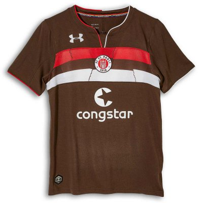 FC St Pauli - 2018-2019 Home Jersey (Brown)