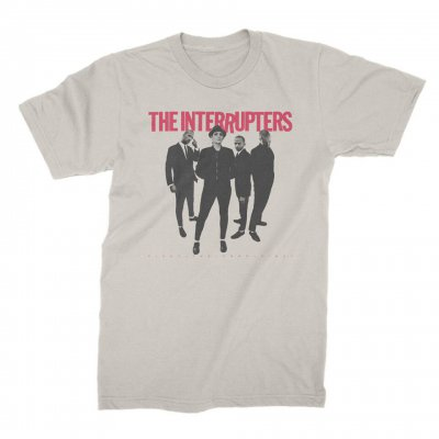 the-interrupters - Fight The Good Fight Cover T-Shirt (Natural)