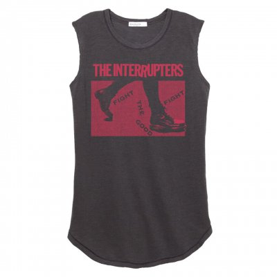 the-interrupters - Boots Women's Muscle Tank (Heather Black)