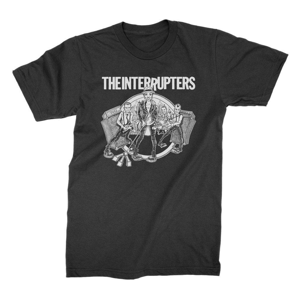 Cartoon Band T-Shirt (Black / White)