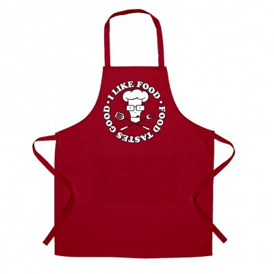 descendents - Limited Edition Milo I Like Food Apron (Red)
