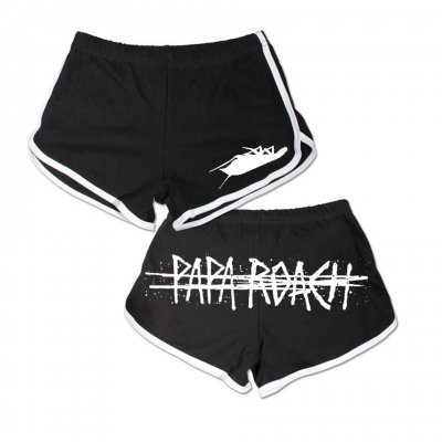 Logo Women's Track Shorts (Black)